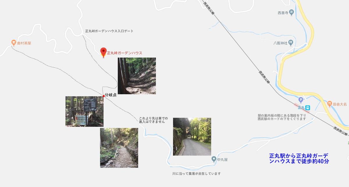 徒歩アクセスマップ